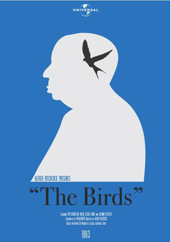 Amazing Alfred Hitchcock Movie Posters Birds
