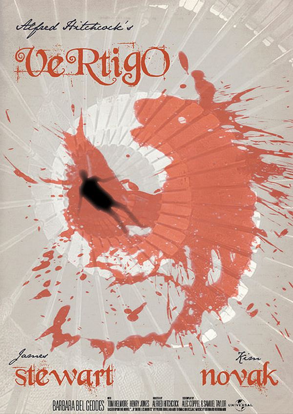 Vintage Vertigo Movie Poster