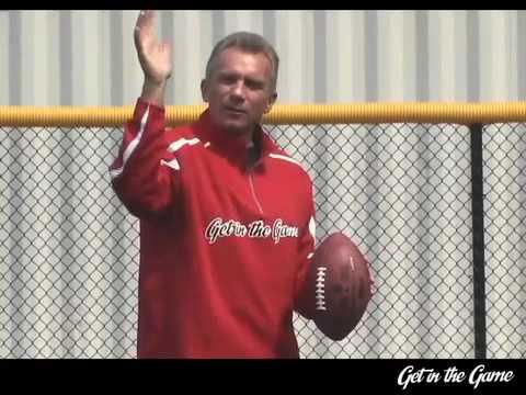 Video thumbnail for youtube video Joe Montana Teaches You How To Throw A Football