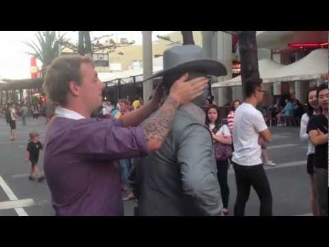 Video thumbnail for youtube video Street Performer Punches Obnoxious Guy