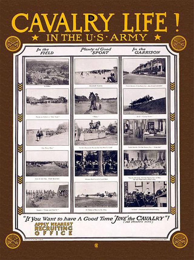 us-army-recruitment-posters-propaganda-cavalry