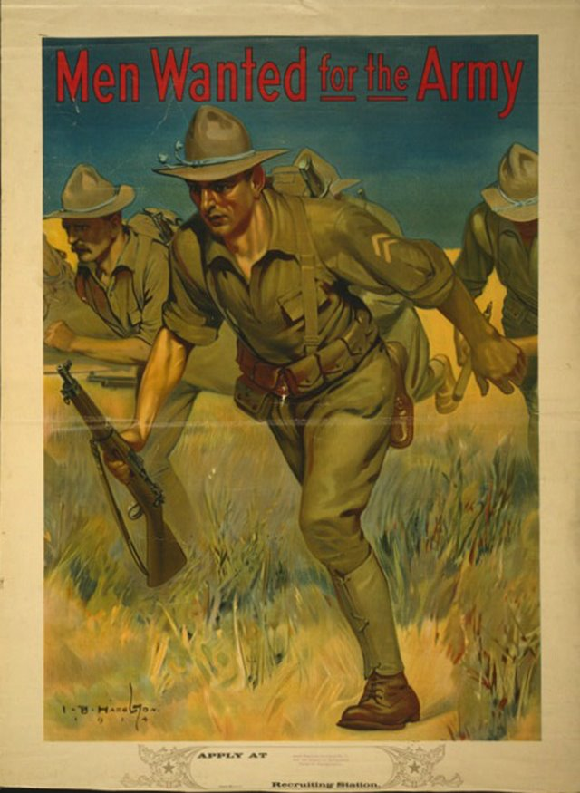 Privacy Policy >> 25 Awesome Vintage Army Recruitment Posters