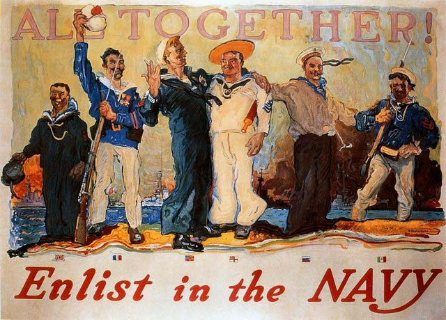 us-navy-recruitment-posters-propaganda-all-together