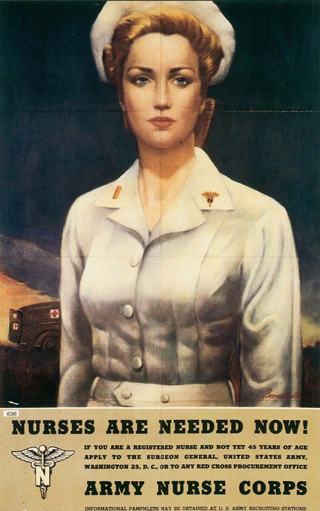 30 Awesome Vintage Military Nurse Recruiting Posters