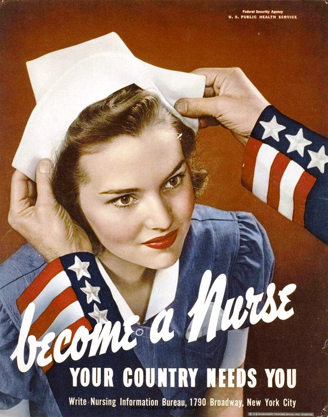 us-nurses-recruitment-posters-propaganda-become