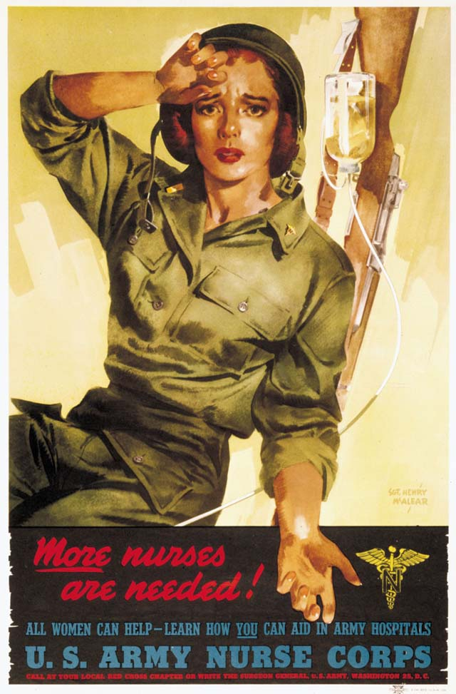 What Is The Air Force >> 30 Awesome Vintage Military Nurse Recruiting Posters