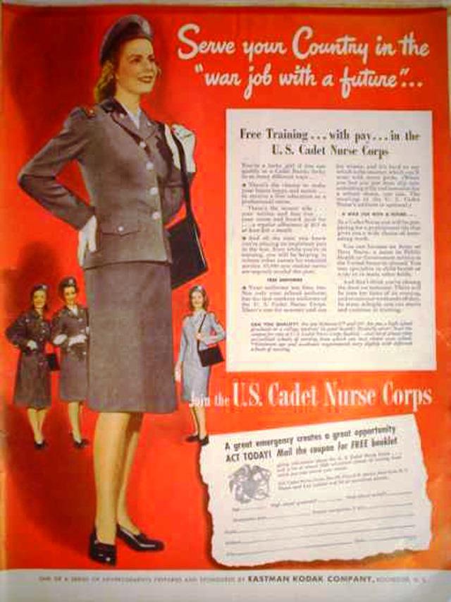 us-nurses-recruitment-posters-propaganda-serve