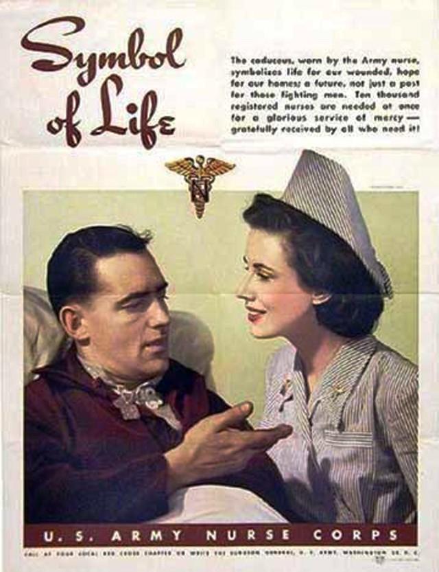 us-nurses-recruitment-posters-propaganda-symbol