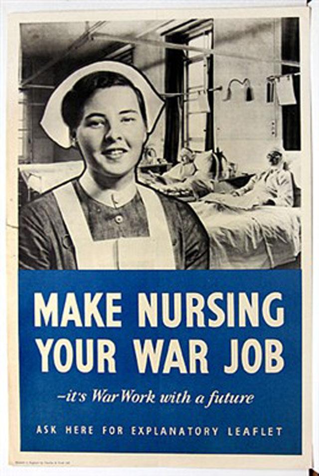 us-nurses-recruitment-posters-propaganda-war-job