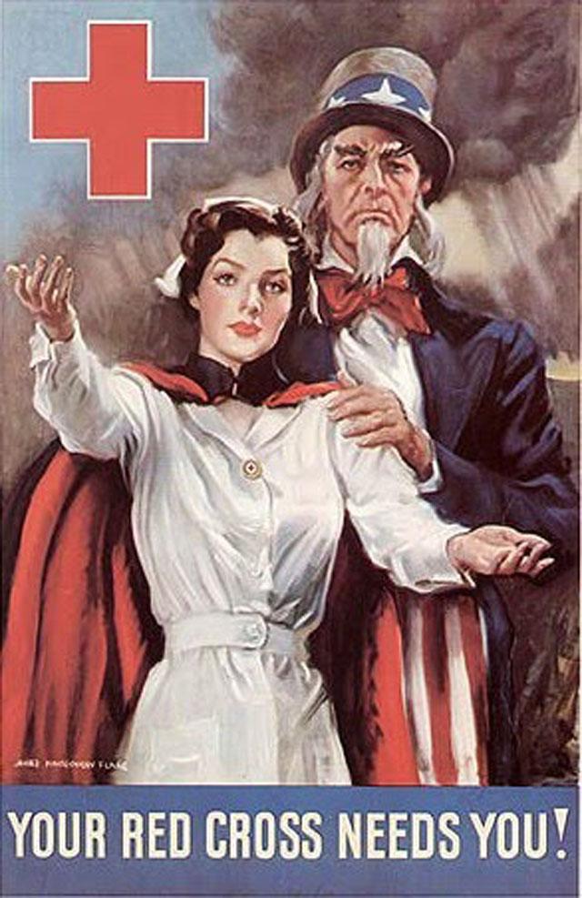 us-nurses-recruitment-posters-propaganda-ww11