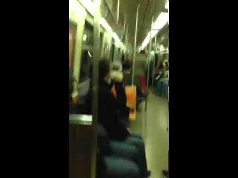 An Epic Sax Battle In The New York City Subway