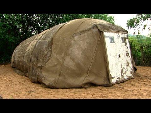 The Amazing Concrete Tent