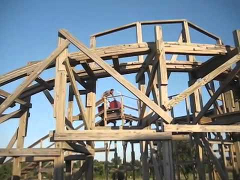 Amazing Backyard Roller Coaster