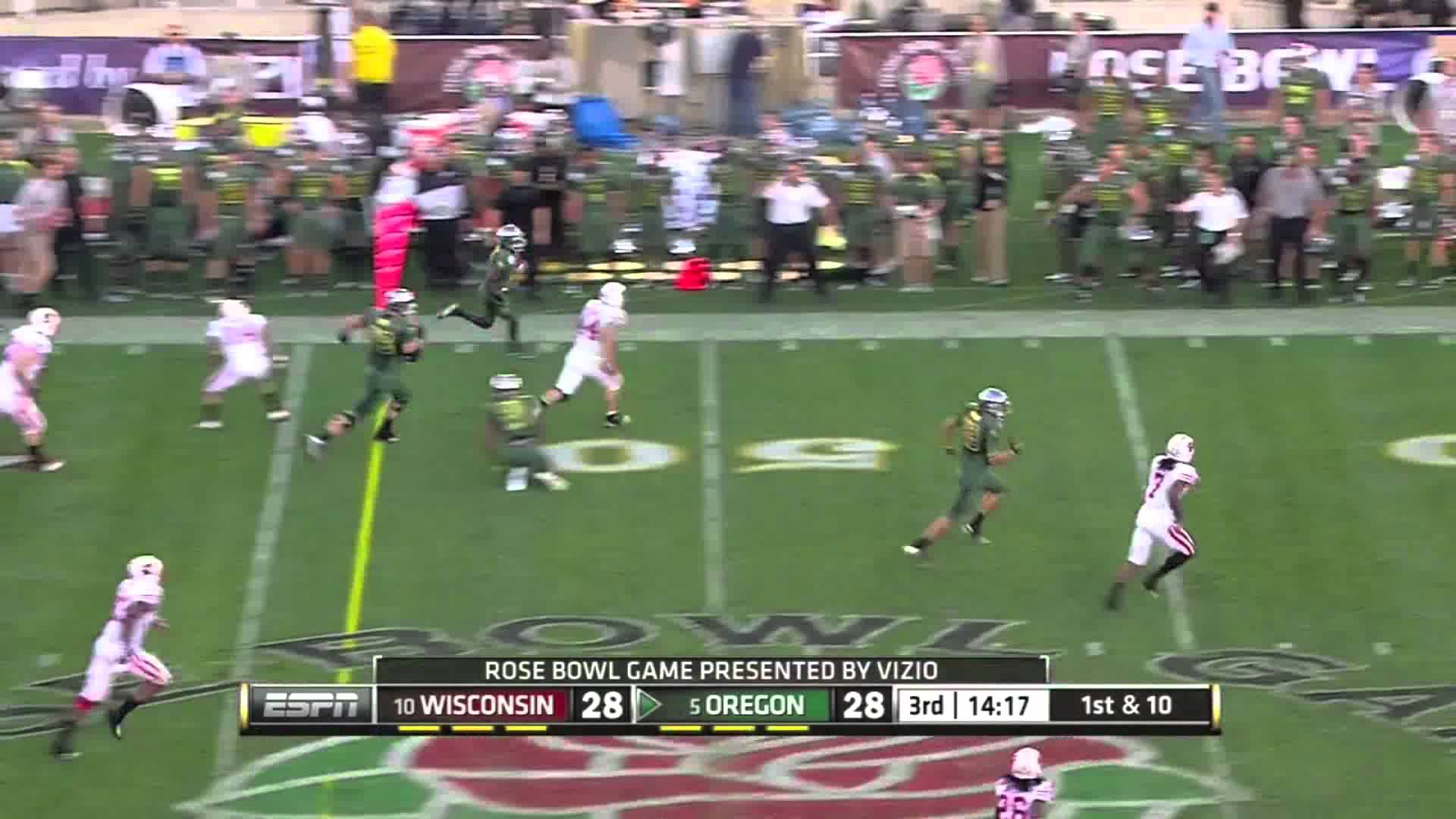 De'Anthony Thomas Is Ridiculously Fast