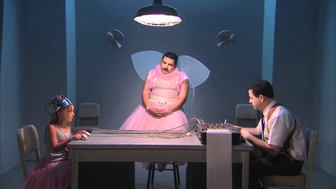 Jimmy Kimmel Hooks Up A Young Girl To A Lie Detector