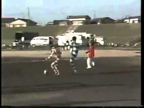 Playing Soccer While Wearing Binoculars