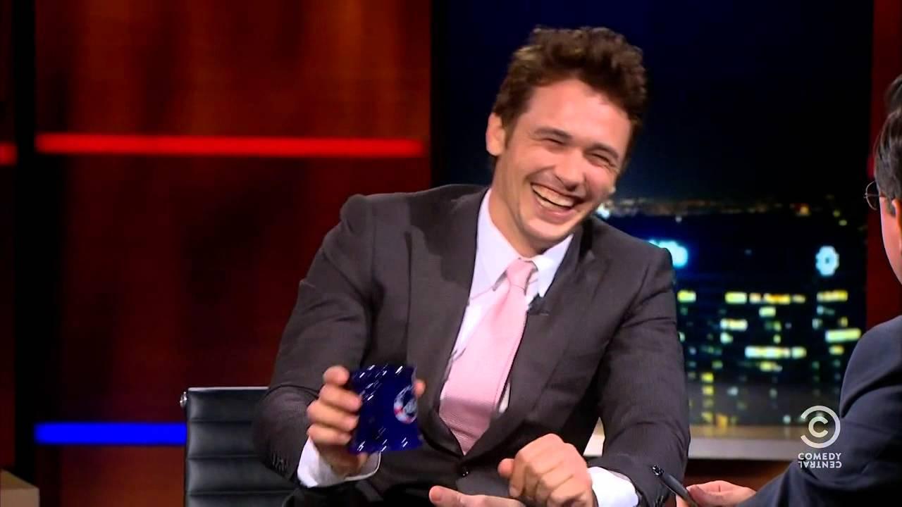 Stephen Colbert Schools James Franco On Tolkien