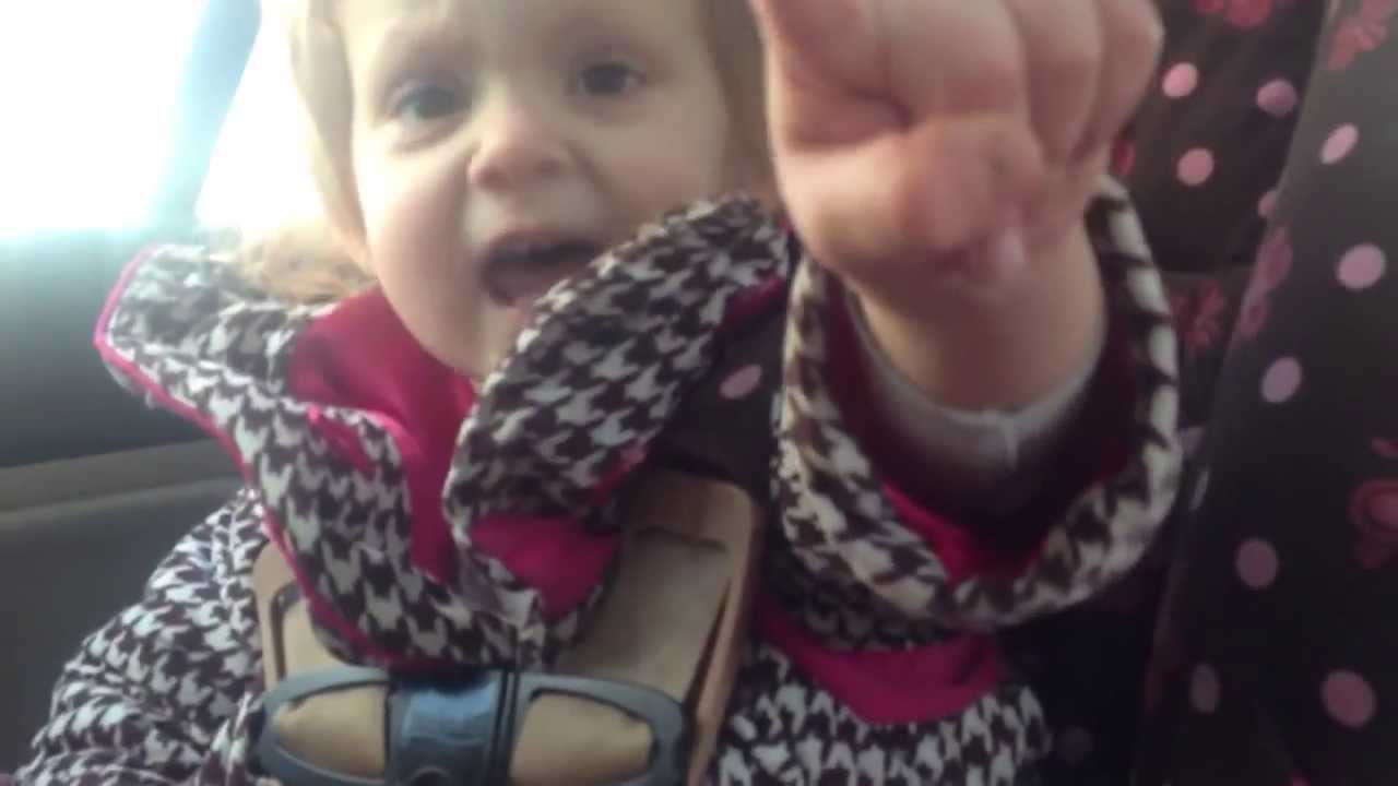 Toddler Tells Her Dad Who's The Boss