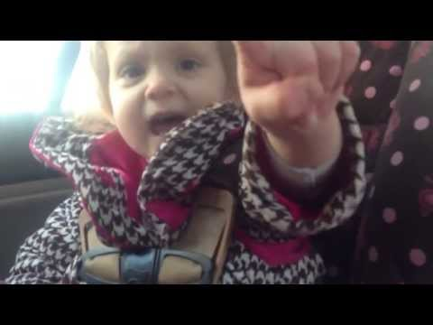 Video thumbnail for youtube video Toddler Tells Her Dad Who's The Boss