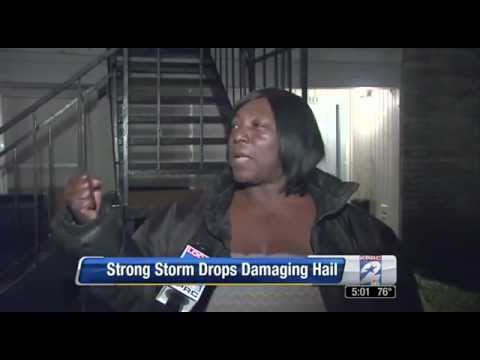 Woman Described Hail Storm