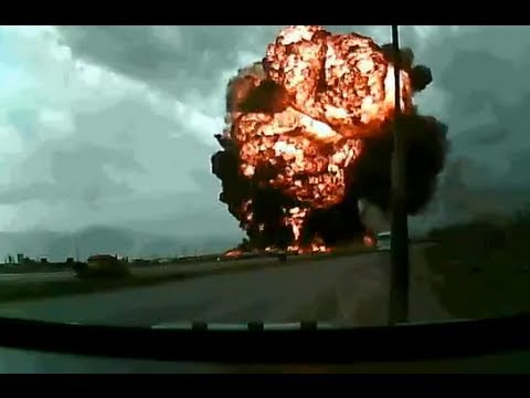 Amazing Boeing 747 Crash Captured On Dashcam