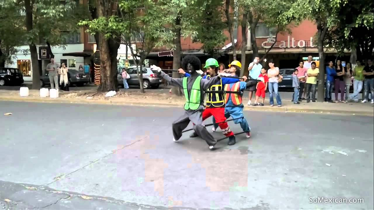 Amazing Mexican Street Performer