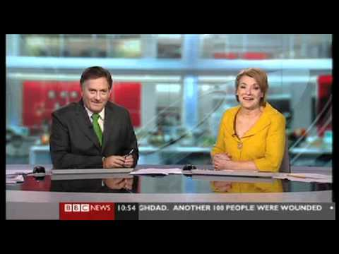 BBC Weatherman Gives The Finger On Live Television