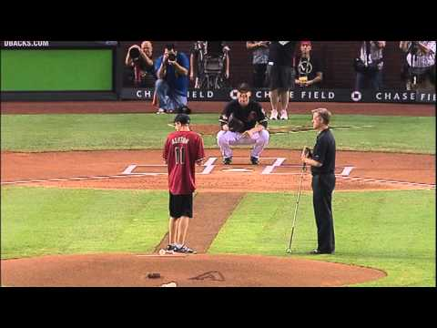 Blind Teenager Throws Out First Pitch During Baseball Playoffs