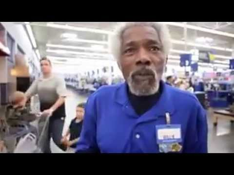 Video thumbnail for youtube video The Greatest Walmart Greeter Ever