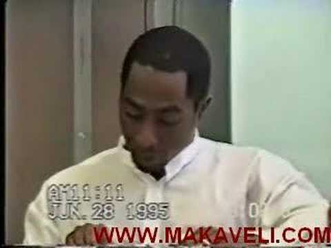 Tupac Is Interrogated By A Judge