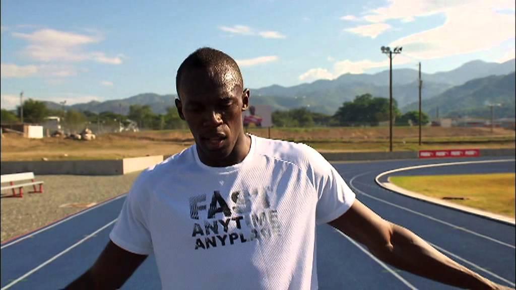 Usain Bolt Explains How To Run