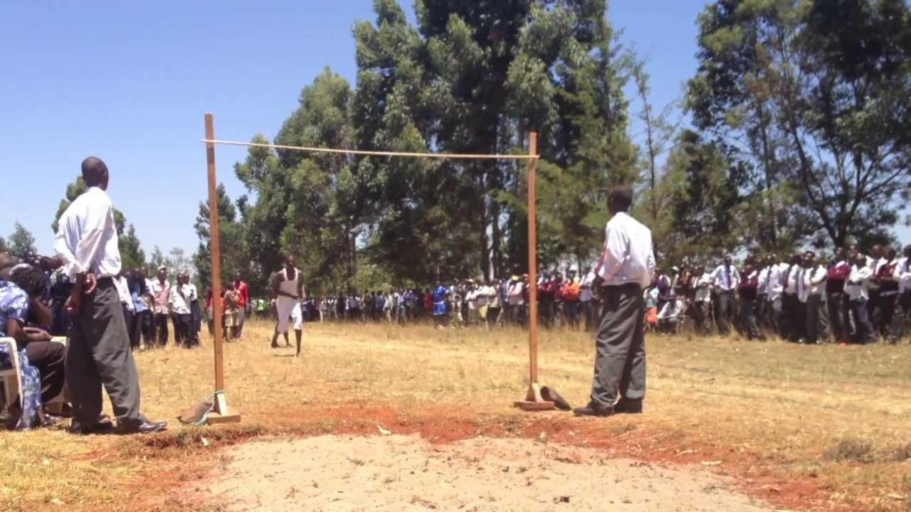 Amazing Kenyan High School High Jump