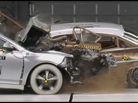 Car Safety In 1959 Versus 2009
