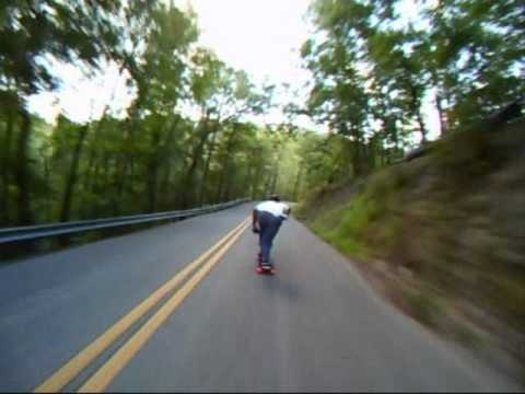 Ridiculous Longboard Crash At 45 Miles An Hour