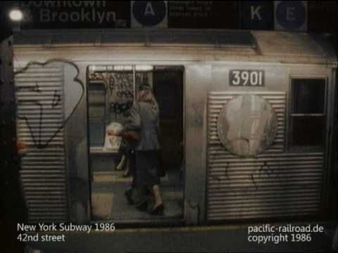 The New York City Subway In 1986