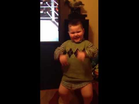 Video thumbnail for youtube video 5 Year Old Does The Wobble