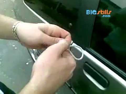 Video thumbnail for youtube video How To Unlock A Car With Just A String