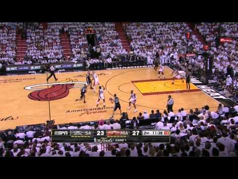 Video thumbnail for youtube video Manu Ginobli's Amazing Pass In The NBA Championship