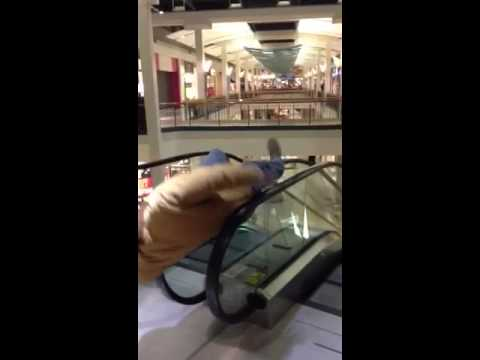 The Best Escalator Helicopter Ever