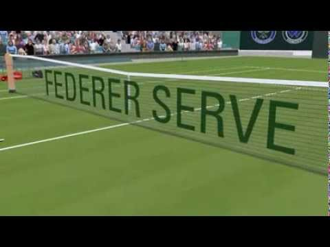 Video thumbnail for youtube video The Phenomenal Disguise Of Roger Federer's Serve