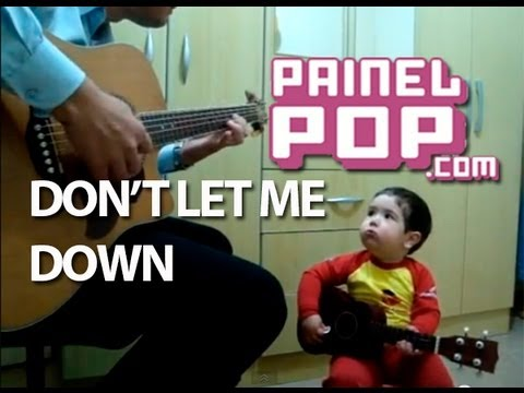 Video thumbnail for youtube video Two Year Old Sings The Beatles With His Dad