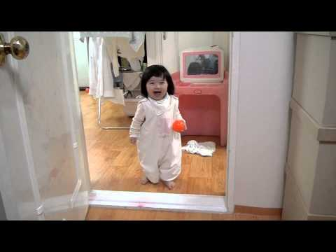 Video thumbnail for youtube video Adorable Baby Stands Up To Pranking Father