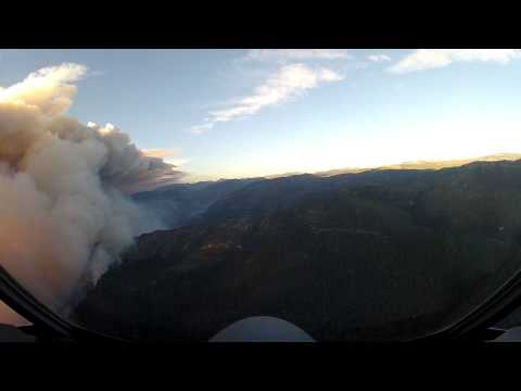 Video thumbnail for youtube video An Amazing Overhead View Of The Yosemite Fires