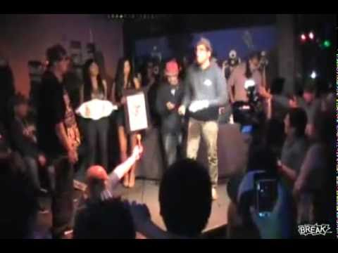 Guy Pees Himself During Rap Battle