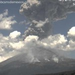 The Amazing Explosion Of Popocatépetl Volcano