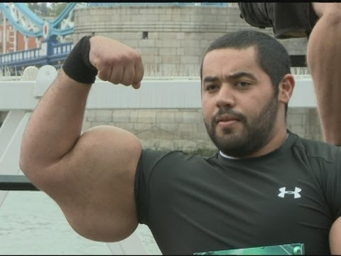 The Largest Biceps In The World