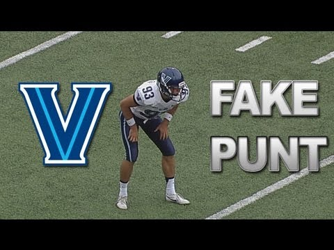 Video thumbnail for youtube video Villanova's Epic Fake Punt