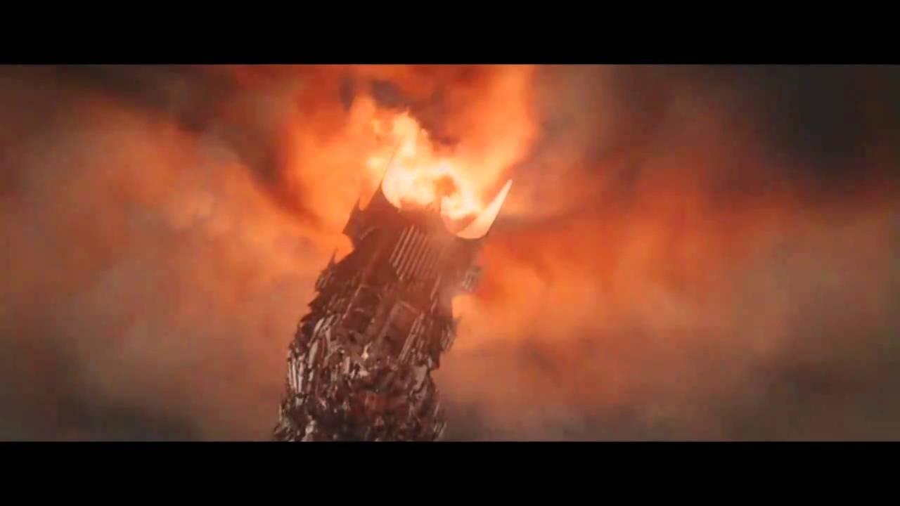 Gimli Destroys The Ring
