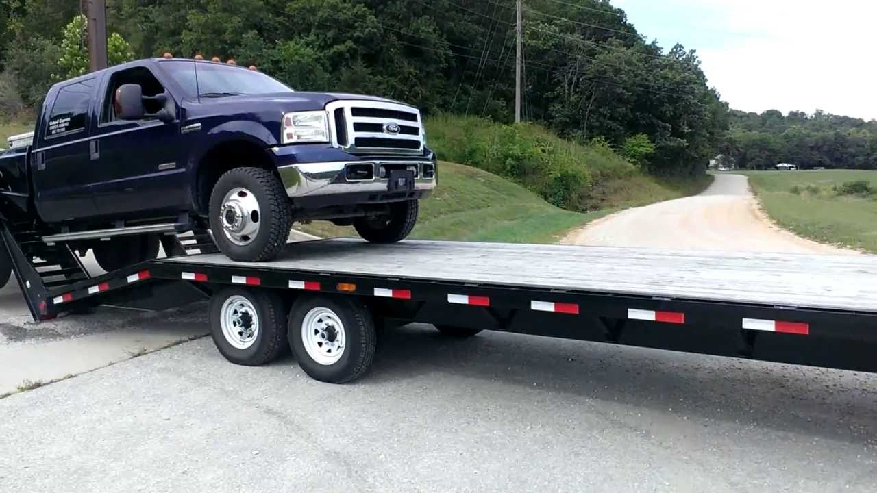 How Not To Load A Truck Onto A Trailer
