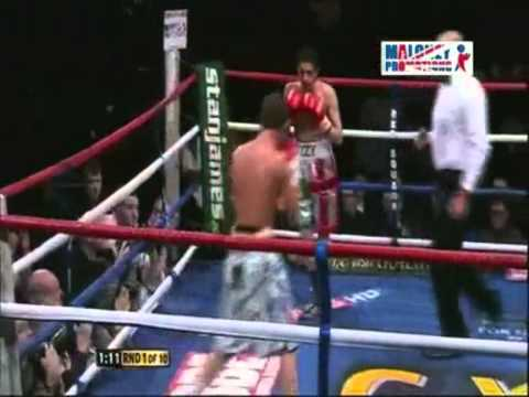 Obnoxiously Arrogant Boxer Immediately Gets Knocked Out